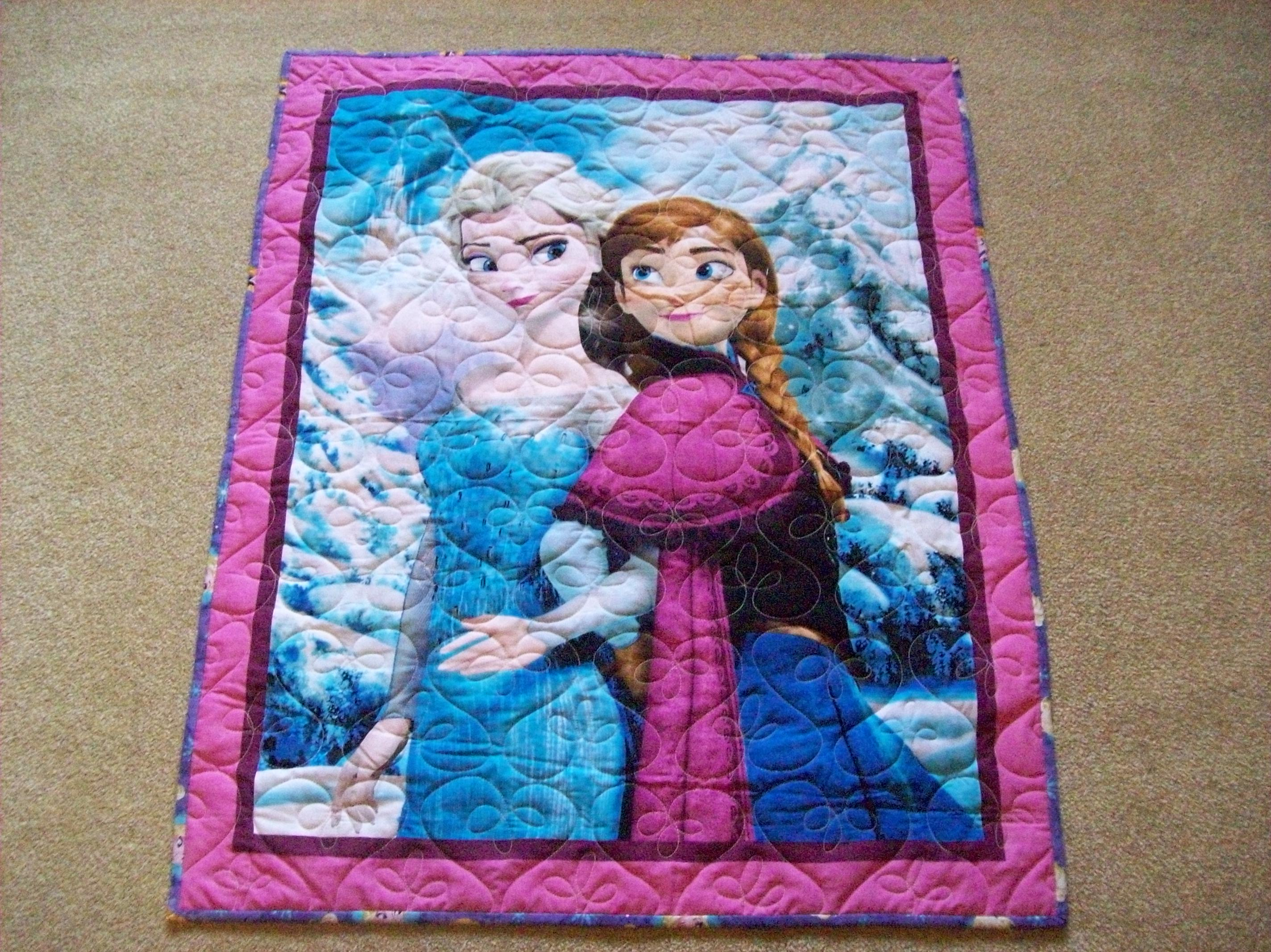 Frozen-Sisters Forever Quilt