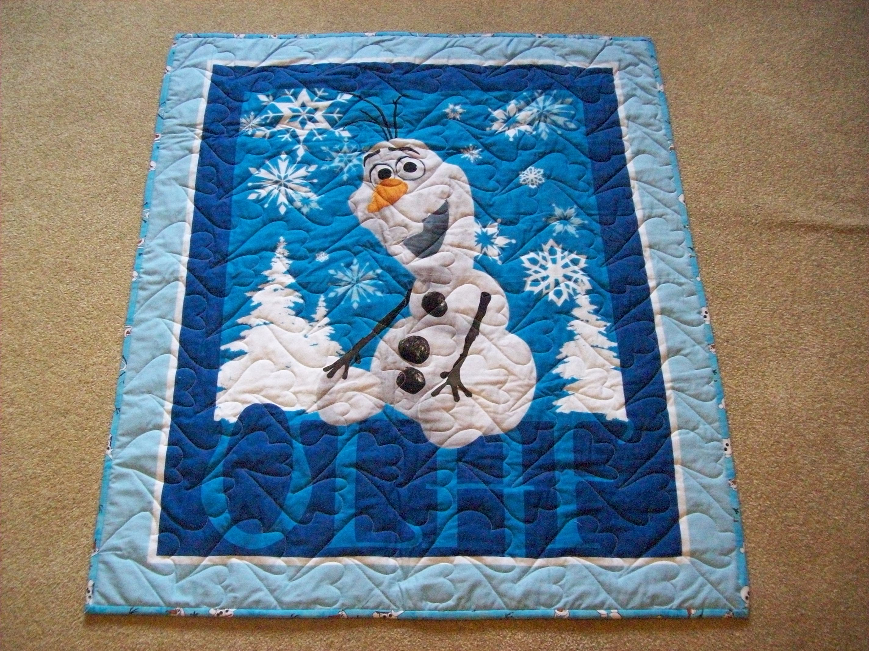 Olaf Quilt